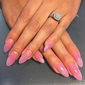25+ Pink Acrylic Nail Art, Designs, Ideas   Design Trends ...