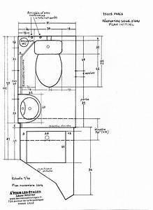 Plan Salle D Eau 2m2. plan exemple de plan de salle de bain ...