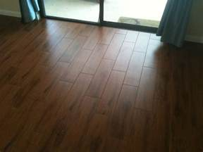 porcelain plank wood look tile installations ta florida ta by ceramictec
