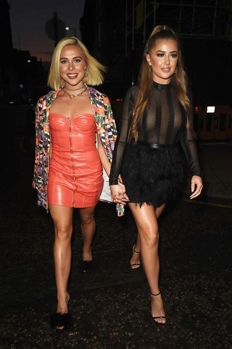 Georgia Steel and Gabby Allen attend Pretty Little Thing x ...