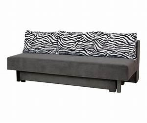 Fabryka mebli quotbodzioquot quotsofa afrodyta velour graphite for Zebra sectional sofa