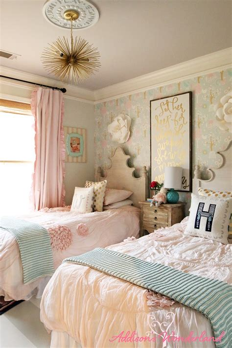 winnies  girl room design reveal addisons