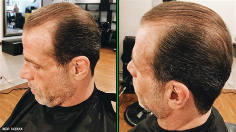 shawn michaels cut   ponytail