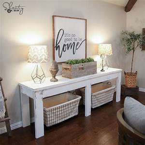 $40 Farmhouse Console Table - Shanty 2 Chic