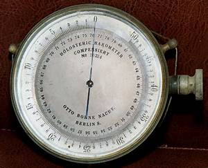Barometer - Simple English Wikipedia, the free encyclopedia