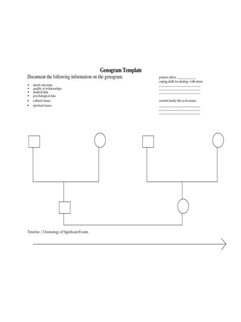 template for genogram in word genogram template 7 free templates in pdf word excel
