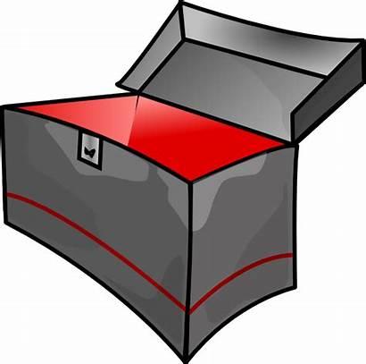 Box Clipart Metal Empty Tool Boxes Toolbox