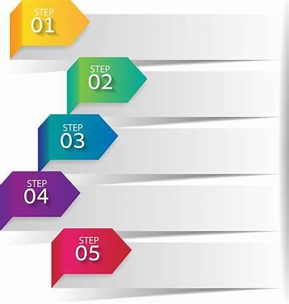 Ppt Powerpoint Infographic Presentation Step Transparent Label