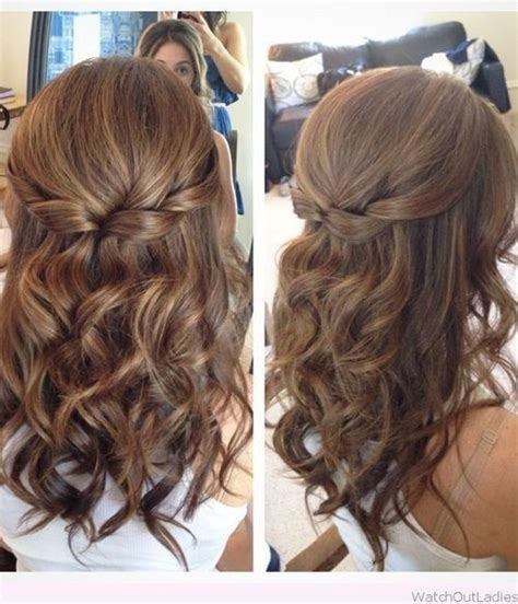 Prom Hairstyles Half Updos by 18 Hairstyles For Prom 13 Curly Half Updo