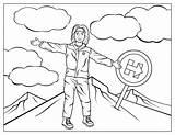 Coloring Clinton Hillary Mountain Climbing Printable Trump Sheknows Soothe Everest Mount Clip Clipart Steal Library Yogi Bear Ceiling sketch template