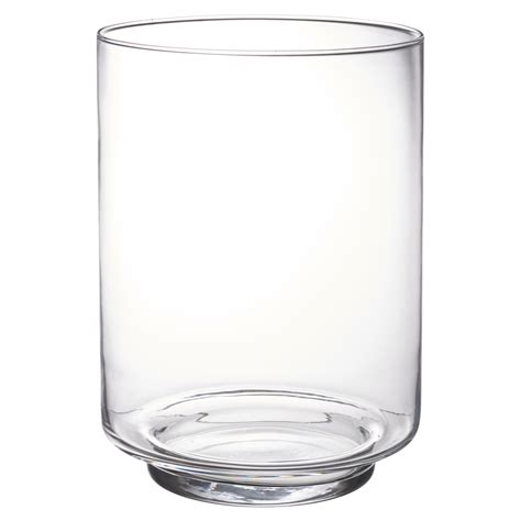large glass vases large clear glass vase footed centrepiece decorative