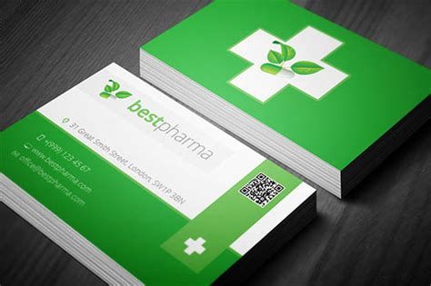 medical business card templates ai ms word photoshop