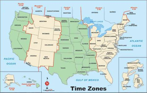 map usa time zone holiday map holidaymapqcom