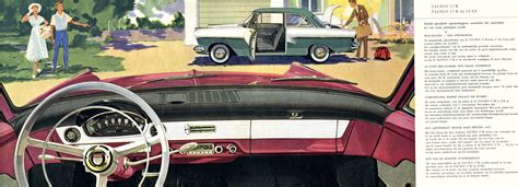 1957 Ford Taunus 17M brochure