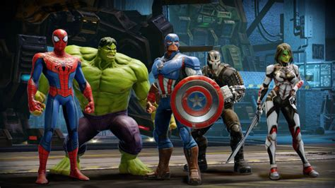 'Marvel Strike Force' Mobile Fighting Game Release Date ...