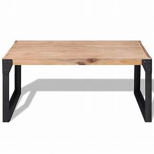 Waschbeckenunterschrank 60 X 45 : acheter vidaxl table basse bois d 39 acacia massif 100 x 60 x 45 cm pas cher ~ Bigdaddyawards.com Haus und Dekorationen