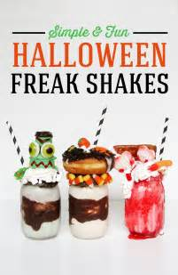 Baby Shower Activities For Kids by Creepy Halloween Ice Cream Shakes