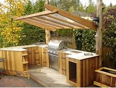 Outdoor Kitchen Plans by 95 Cool Outdoor Kitchen Designs DigsDigs