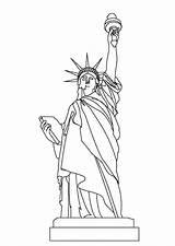 Liberty Statue Coloring Colour Colornimbus Sheets Template Sketch sketch template