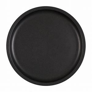 Assiette Noire Mat : leonie assiette dessert en gr s noir mat habitat ~ Teatrodelosmanantiales.com Idées de Décoration