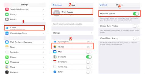 access icloud from iphone how to access photo on iphone in ios 9 x