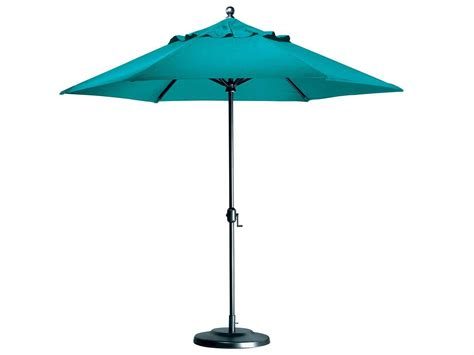 tropitone portofino 8 5 aluminum market crank umbrella