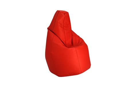 Upholstered Bean Bag Sacco By Zanotta Design Cesare