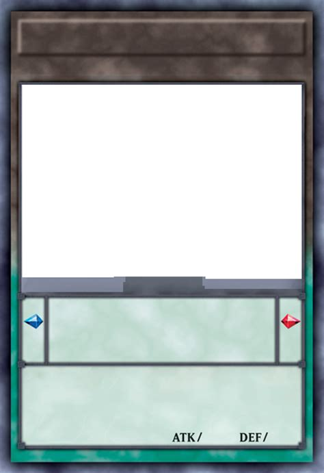 yugioh card template yu gi oh series 9 layout pendulum templates