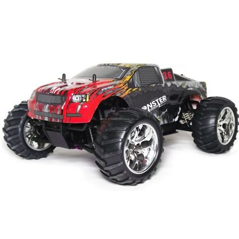 nitro rc monster trucks the quot monster quot nitro powered rc monster truck rtr 1 10th