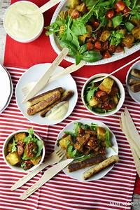 Honig Senf Sauce Salat : vegetarisch grillen tomaten brot salat honig senf sauce ~ Watch28wear.com Haus und Dekorationen