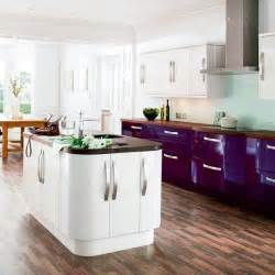 gloss kitchens ideas mixed finish kitchens 10 best housetohome co uk