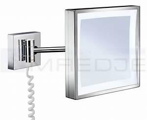 Kosmetikspiegel 5 Fach : beleuchteter led kosmetikspiegel quadrato 3 fach ~ Watch28wear.com Haus und Dekorationen