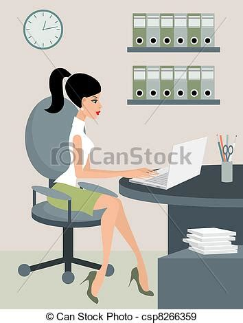 eps vectors of at office csp8266359 search clip illustration drawings and