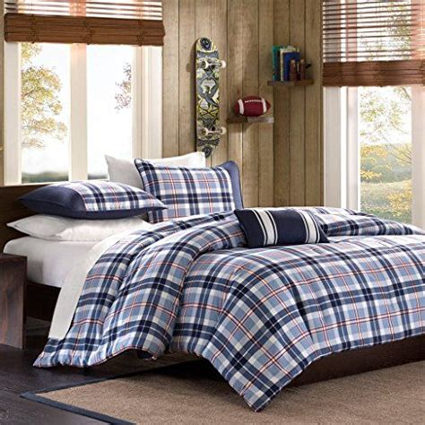 twin bed sets for boy this is a blue striped comforter for a teen boys 19998