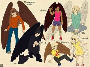 Books Characters - Maximum Ride - The Flock by ...