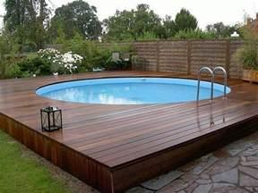 25 best ideas about above ground pool decks on pinterest