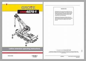 Grove Mobile Crane Gmk4075
