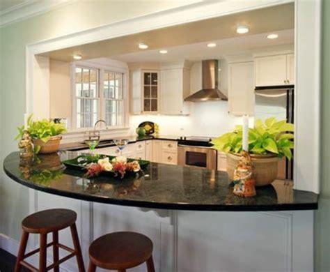 modele de cuisine avec ilot central la cuisine arrondie dans 41 photos pleines d 39 idées