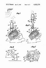 Patents Patent Buoy Crab Lobster Pages Traps Drawing sketch template