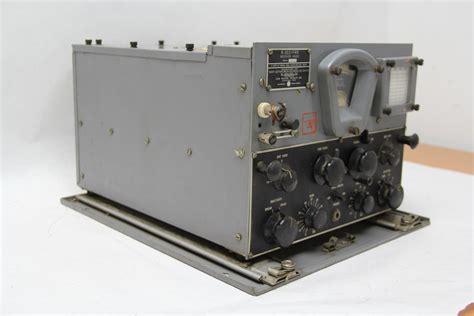 radio bureau vintage ww2 navy department bureau of ships radio receiver