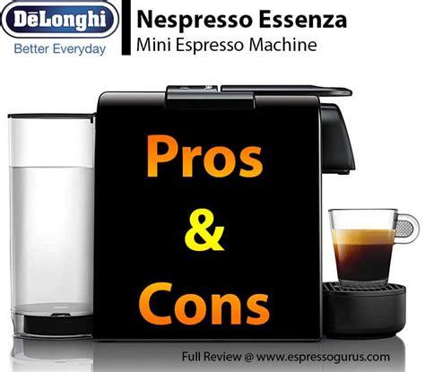 Delonghi Espresso Review by Nespresso Essenza Mini Espresso Machine By De Longhi Review