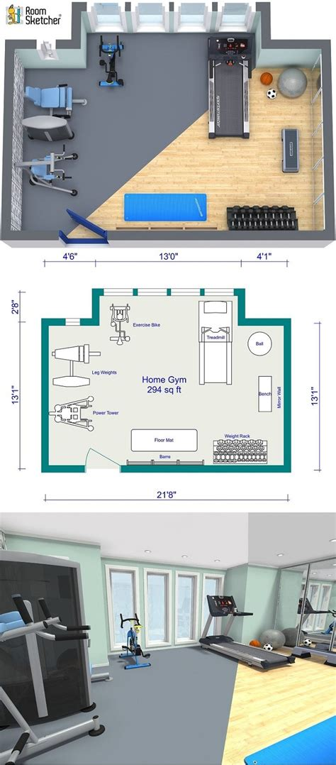 planning  add  small gym  home   part