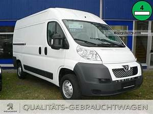 Peugeot Boxer 333 L2h2 2 2 Hdi 2011 Other Trucks Over 7 Photo And Specs