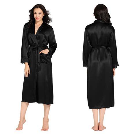 robes de chambre femmes 22 momme cuff silk robe