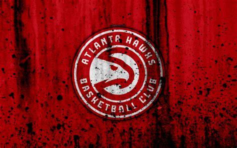 Download wallpapers Atlanta Hawks, 4k, grunge, NBA ...