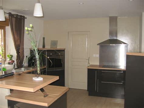 cuisine gris et bois ophrey com cuisine gris vert bois prélèvement d