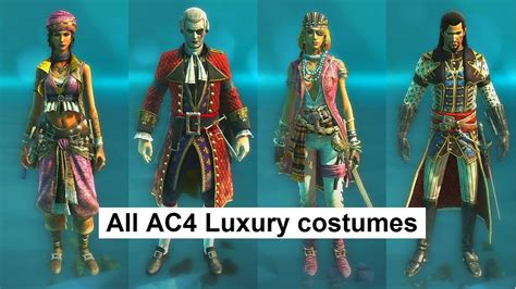 ac4 rating all ac4 multiplayer 60k luxury costumes assassin s creed 4 multiplayer characters customization