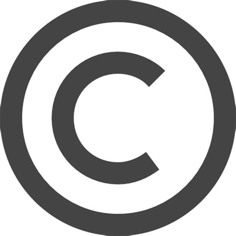 copyright symbol copyright symbol free shapes icons