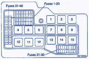 Bmw 318i 1996 Distribution Fuse Box  Block Circuit Breaker Diagram