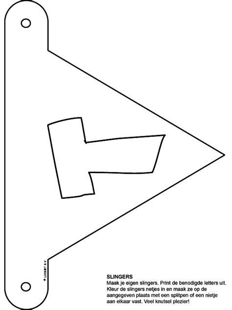 Kleurplaat Letter T by Kleurplaat Slingers Letter T Kleurplaten Nl